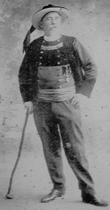 Le barde Jos Parker de Fouesnant.
