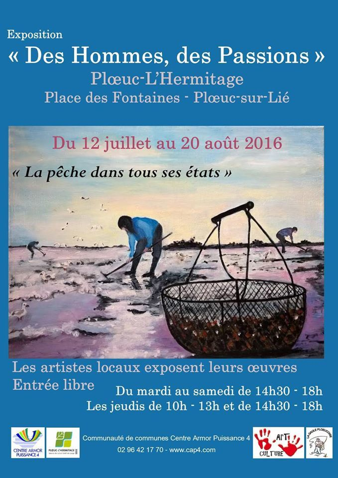"""Exposition """"des hommes des passions"""""""