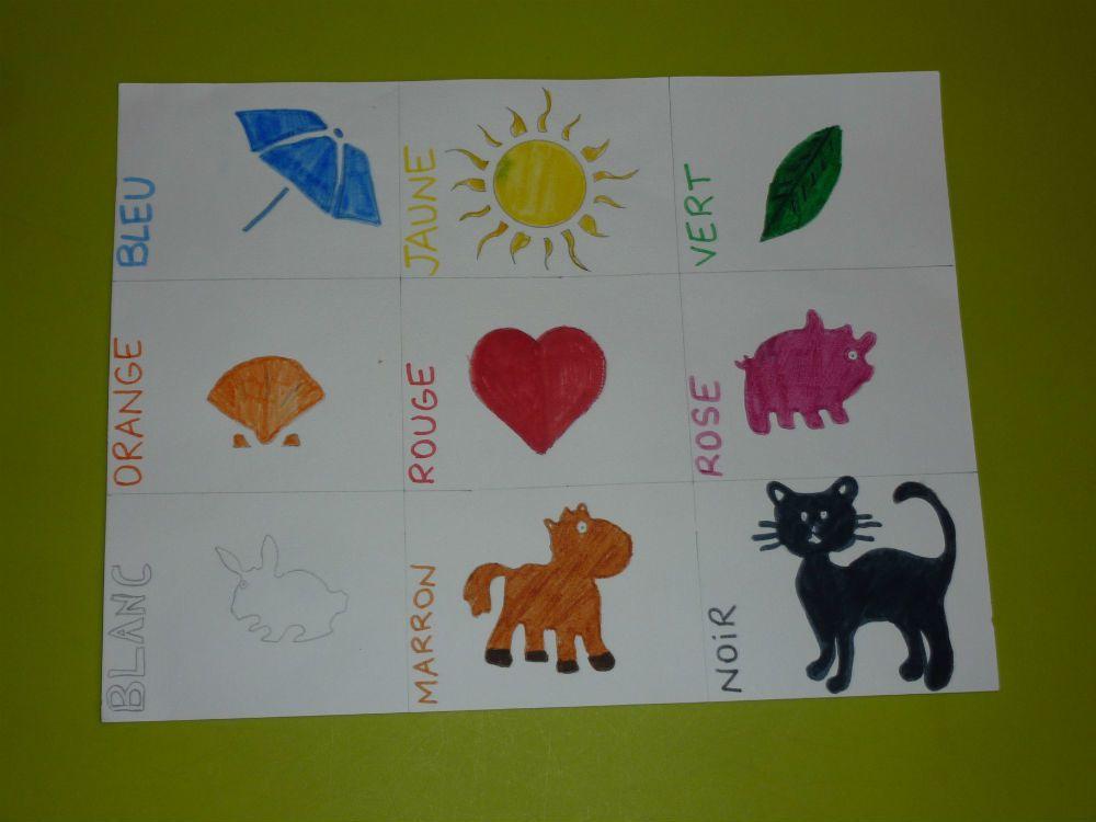 Le jeu des couleurs by Karine !