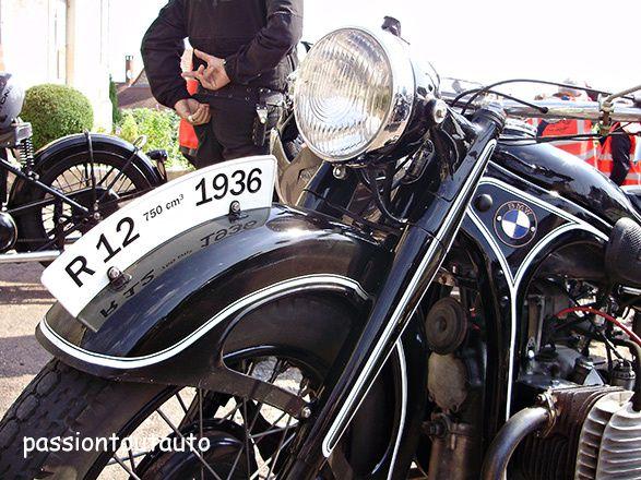 Une BMW de 1936, transmission par cardan