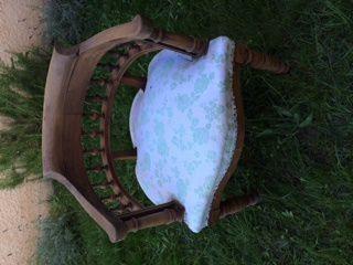 Relooking chaise en bois / Deuxième étape : le ponçage