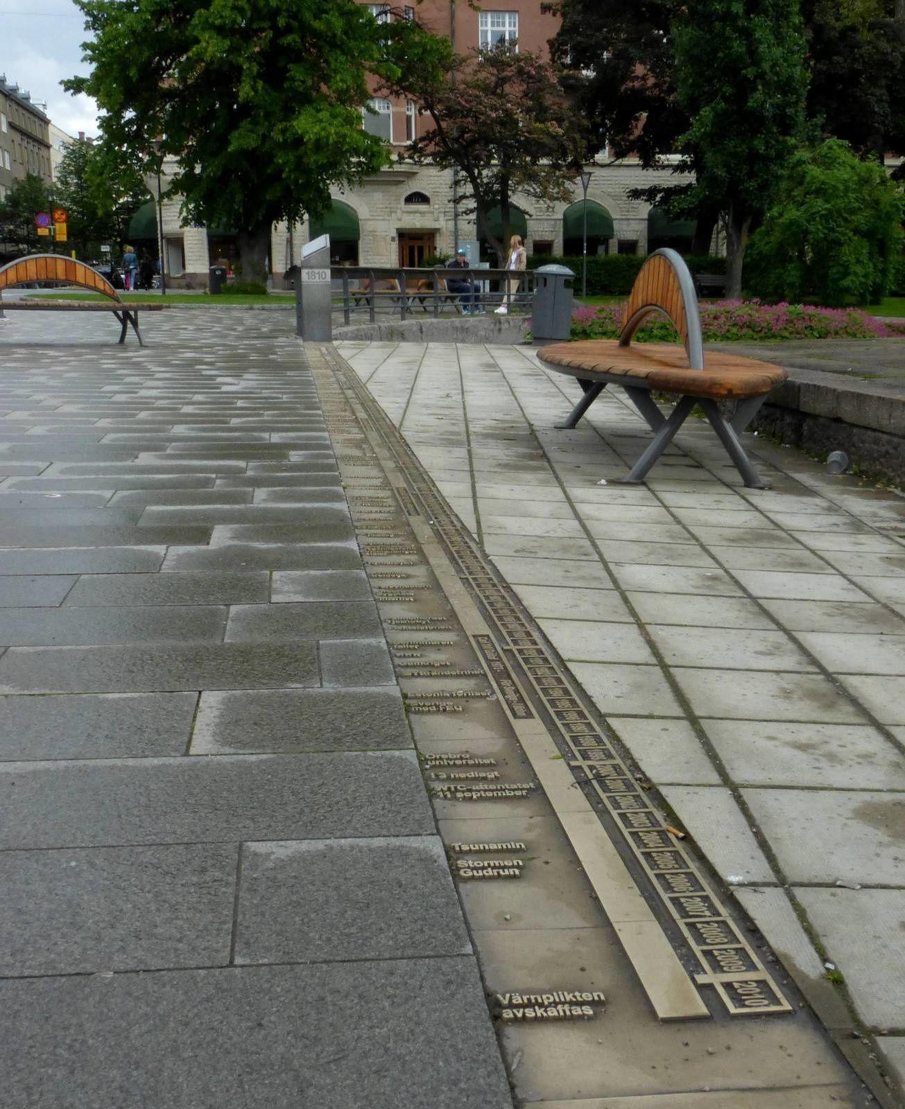 15 mètres d'histoire à Örebro