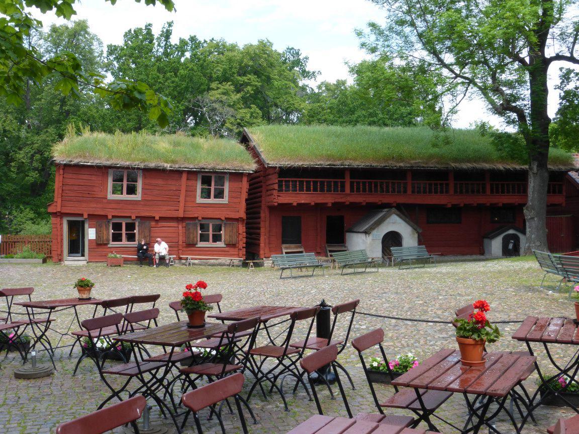 Borgarhuset et Kungstugan, qui avaient été mises en place là avant même que le projet de Réserve Culturelle se forme.