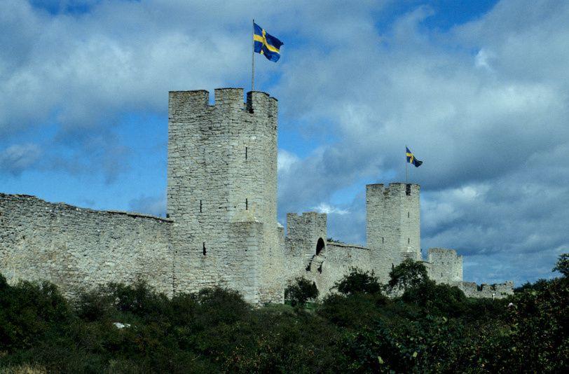 C'est le plus important vestige médiéval suédois