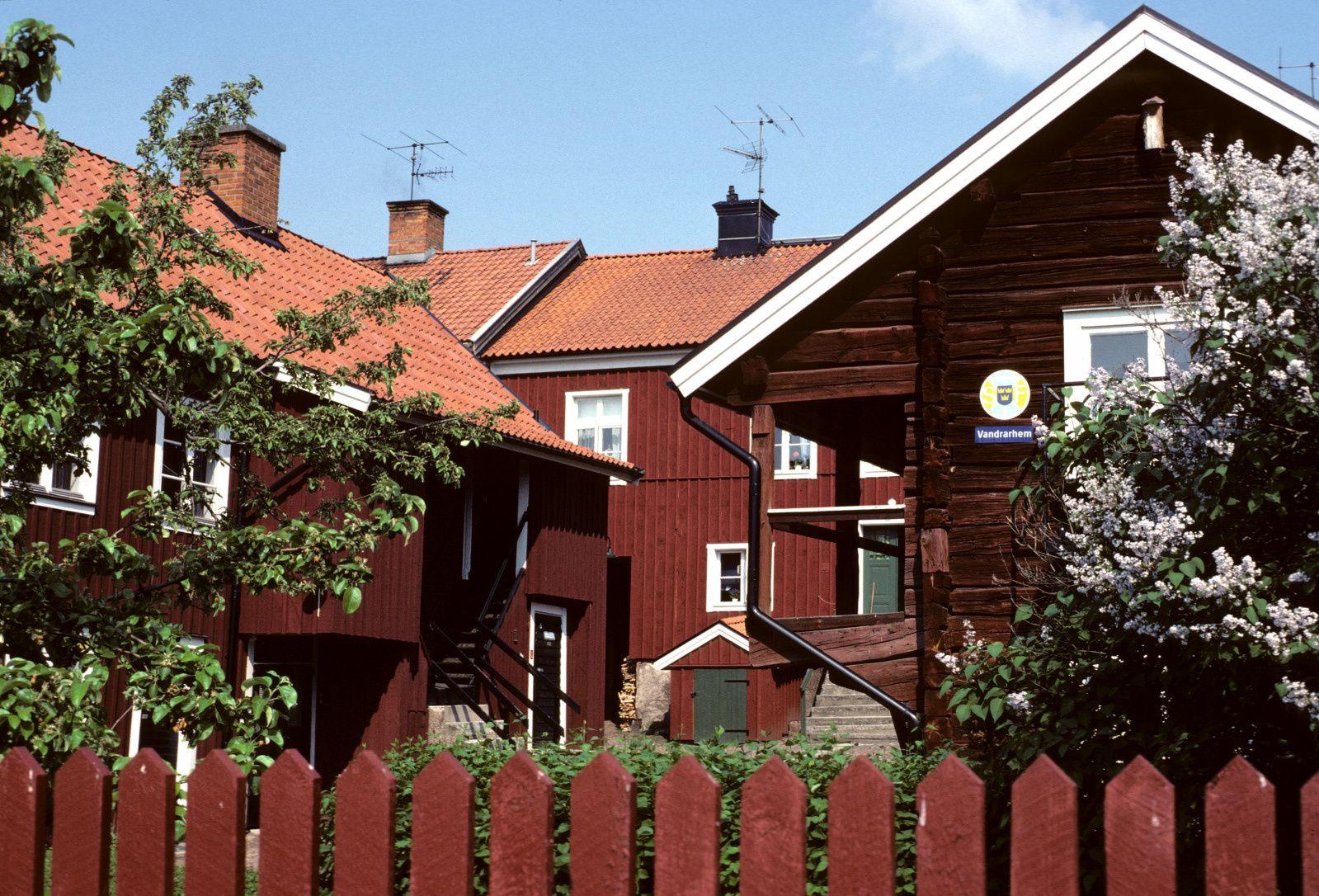 Mariestad, sur le lac Vänern