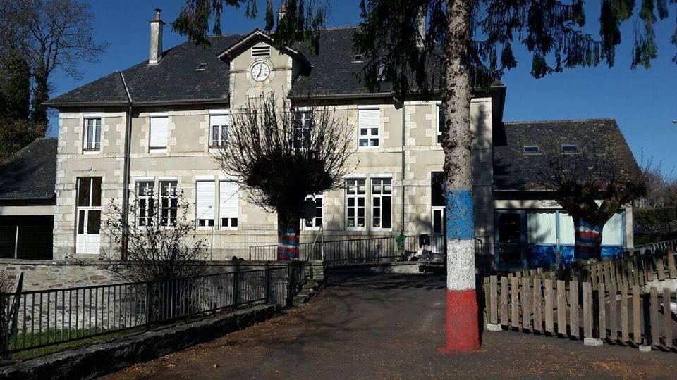 Les enfants ont mis leur école aux couleurs de la France, en hommage aux victimes de Paris.