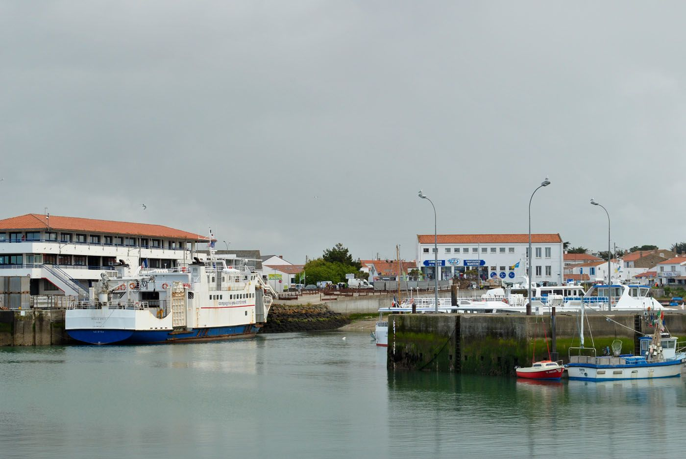 L'Ile d'Yeu: Port Joinville. (Photo prise le 29.05.2013)