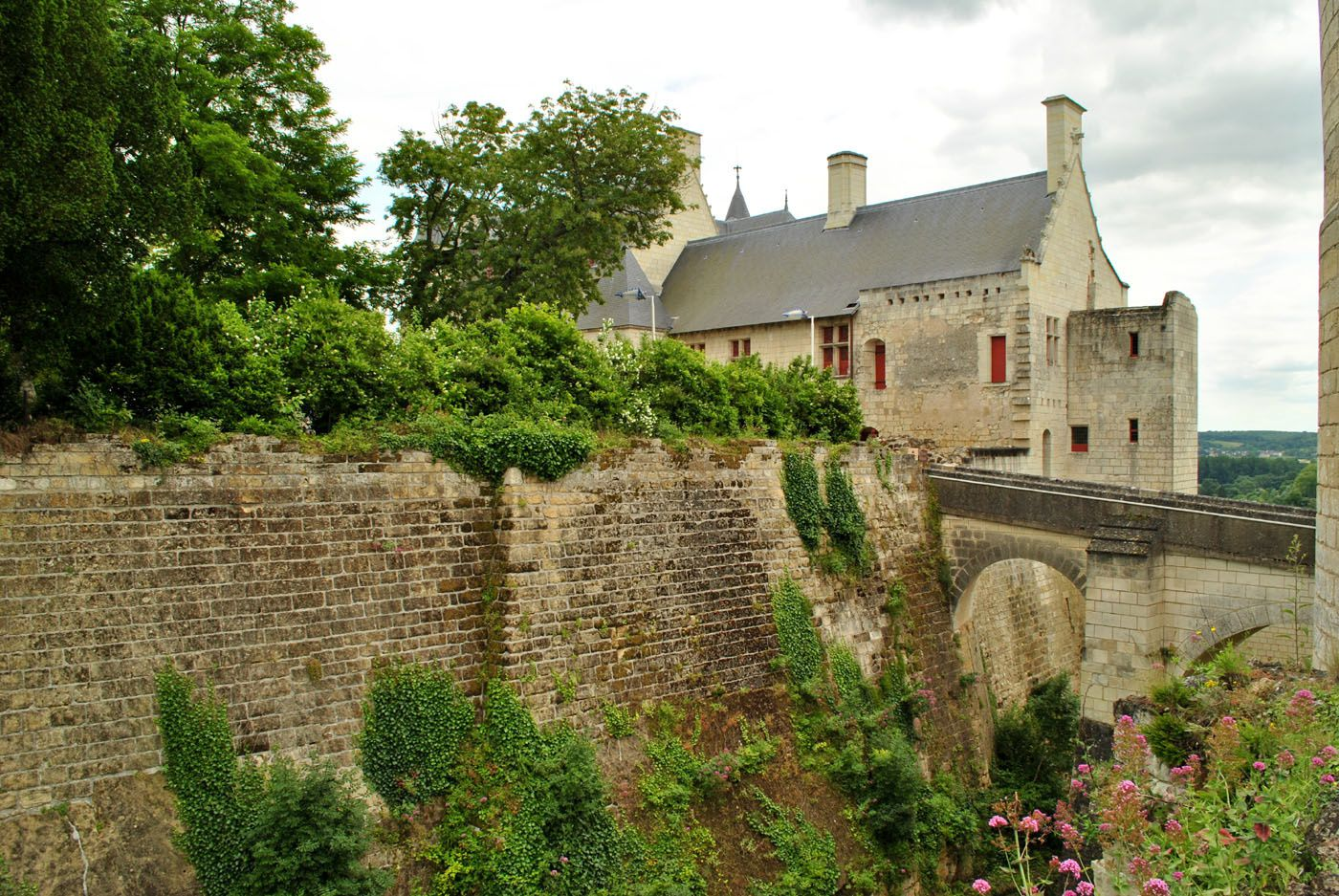 Château de Chinon. (Photo prise le 25.06.2013)