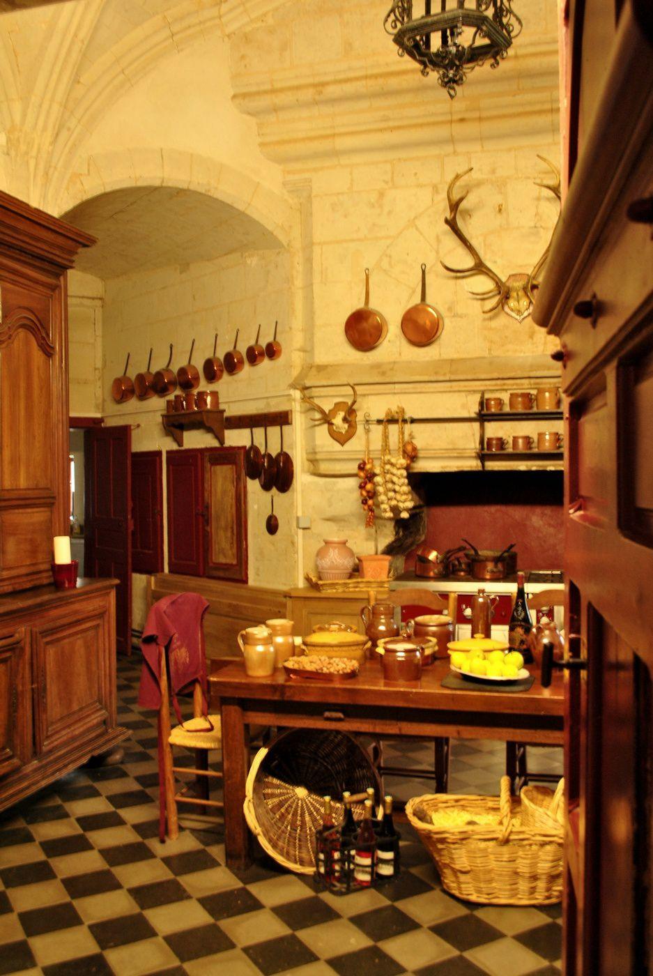 Château de Brissac: Une des cuisines du château. (Photo prise le 19.10.2013)