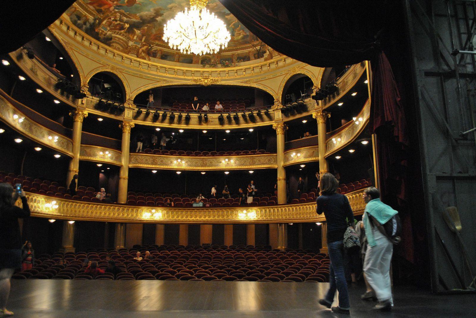 Grand théâtre d'Angers: (Photo prise le 21.09.2014)