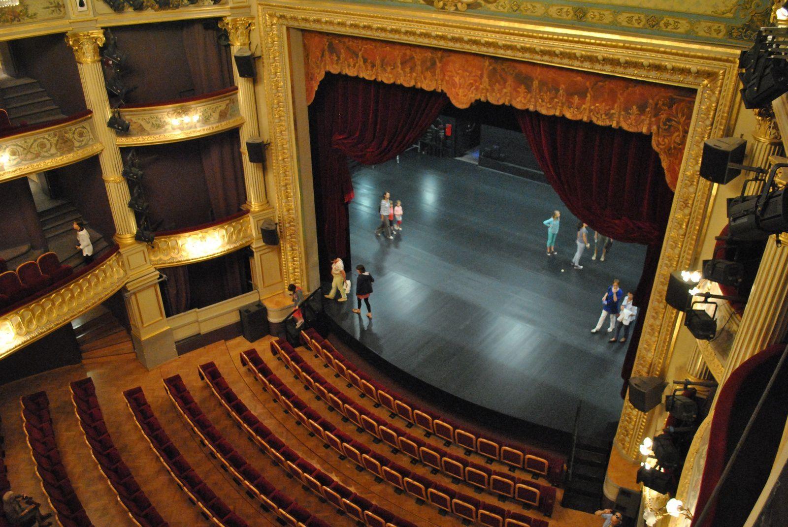 Angers le grand théâtre: (Photo prise le 21.09.2014)