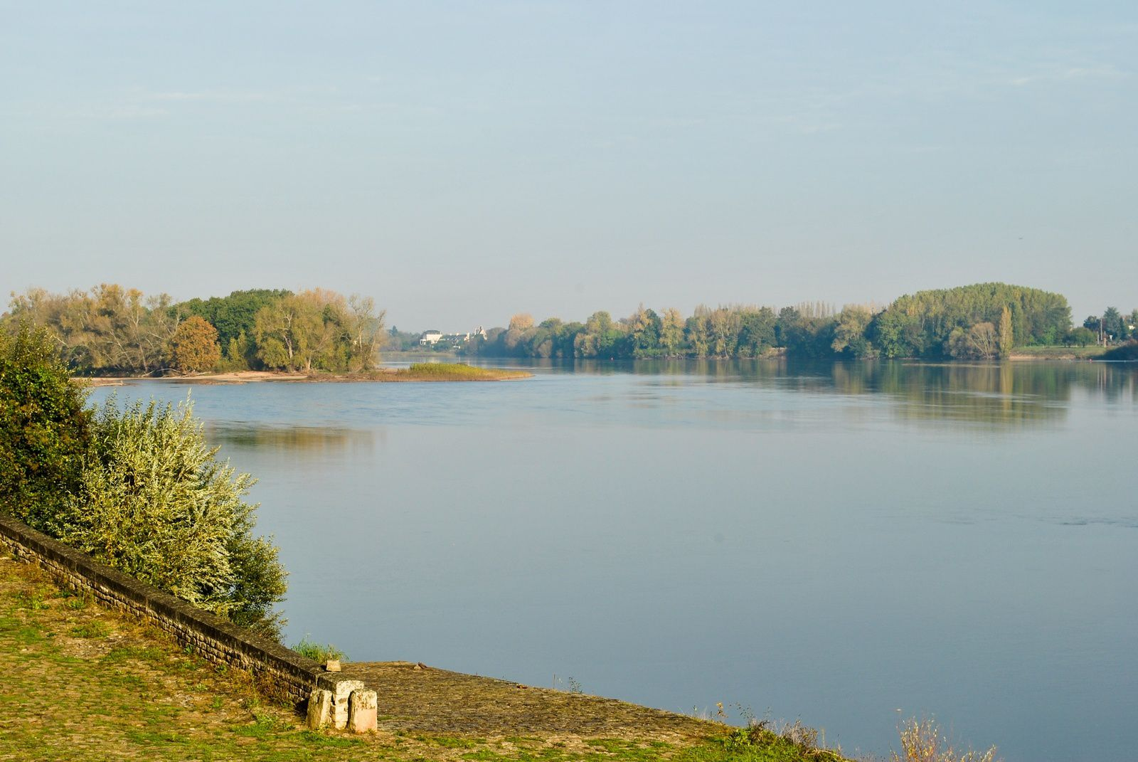 Bord de Loire: (Photo prise le 29.10.2014)