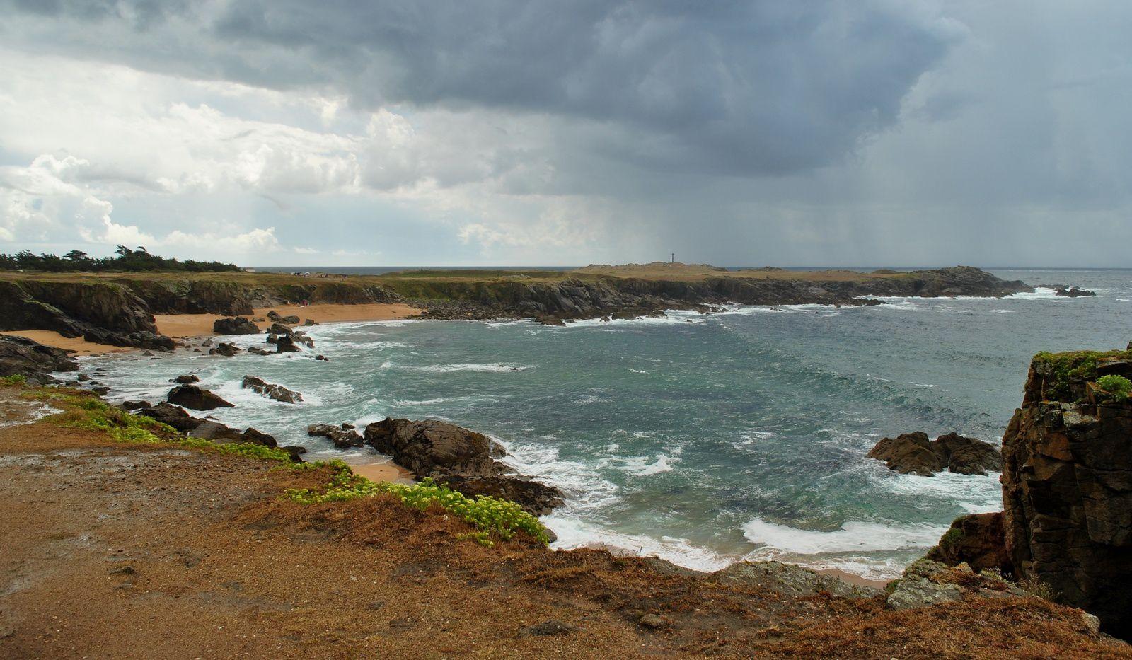 L'ile d'Yeu: La côte sauvage. (Photo prise en 2013)