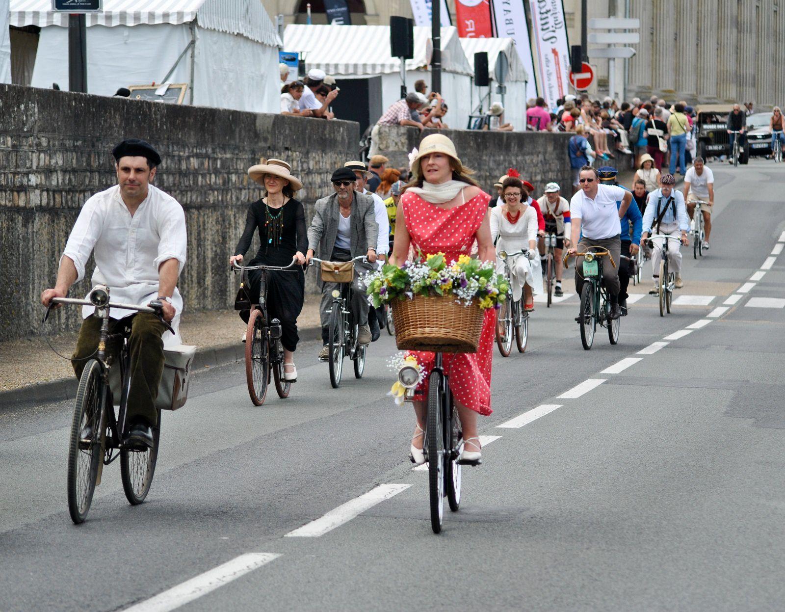 Fête Anjou Vélo Vintage: (Photo prise le 13.06.2015).