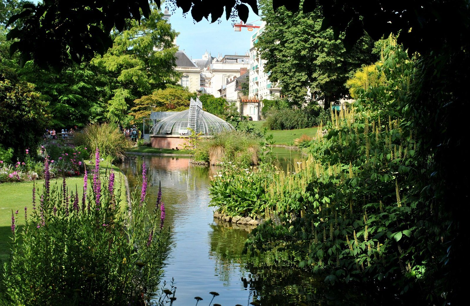 Article du jour jardin des plantes de nantes paroles d for Jardin nantes