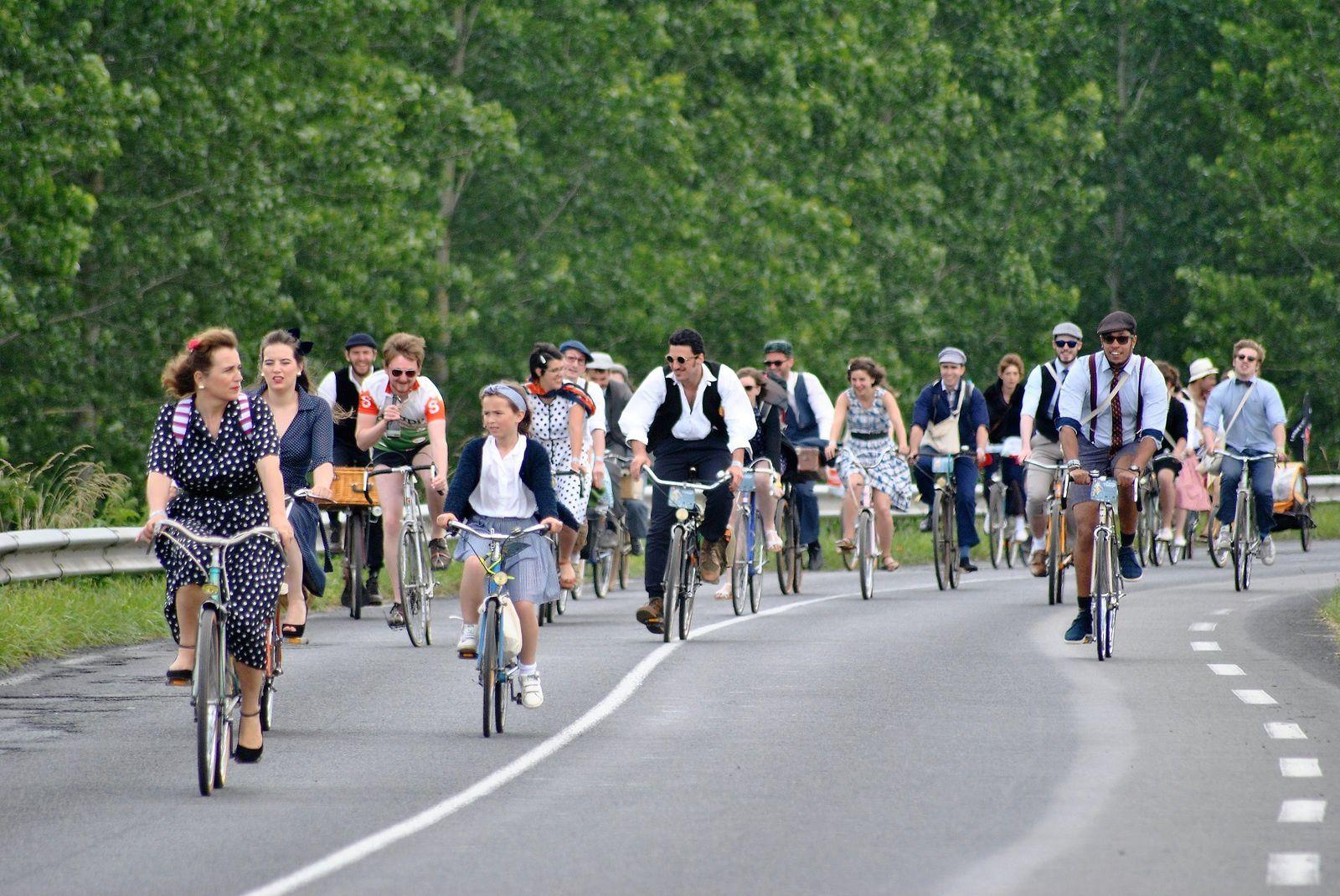 Fête Anjou Vélo Vintage 2016. (Photo prise le 19.06.2016).