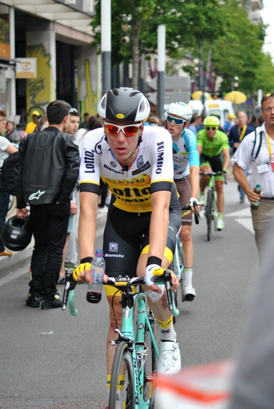 Angers: Etape du tour de France 2016. (Photo prise le 4.07.2016).