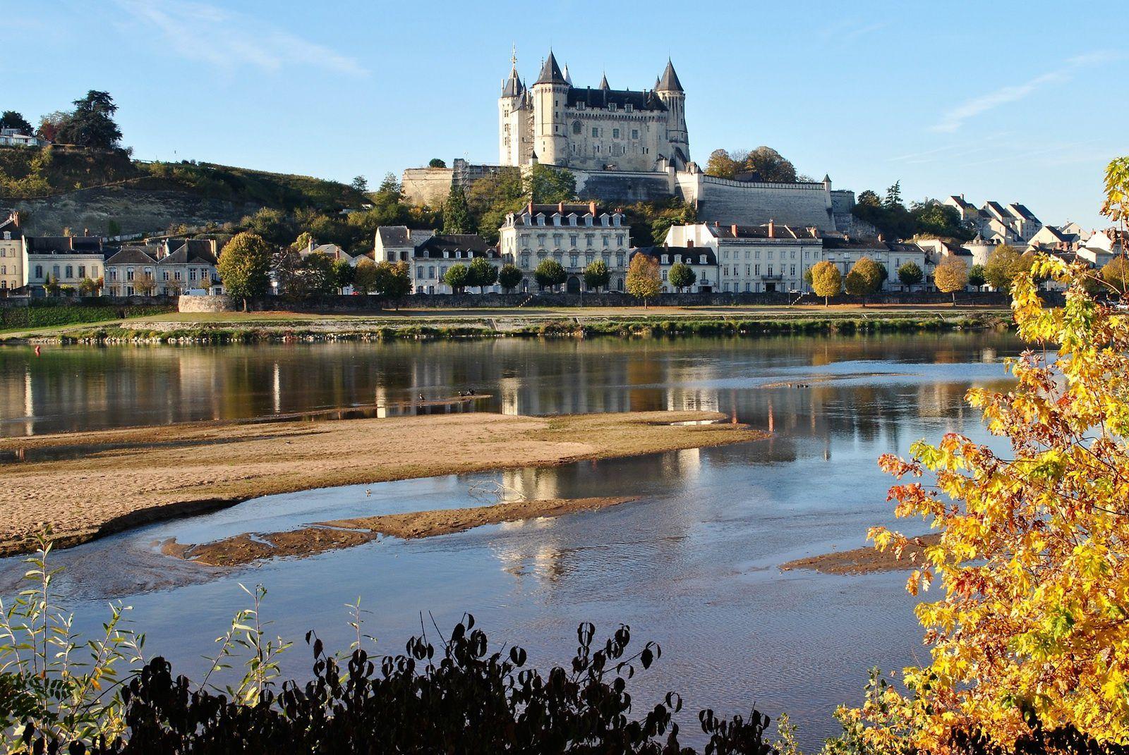 Château de Saumur: (Photo prise le 3.11.2016).