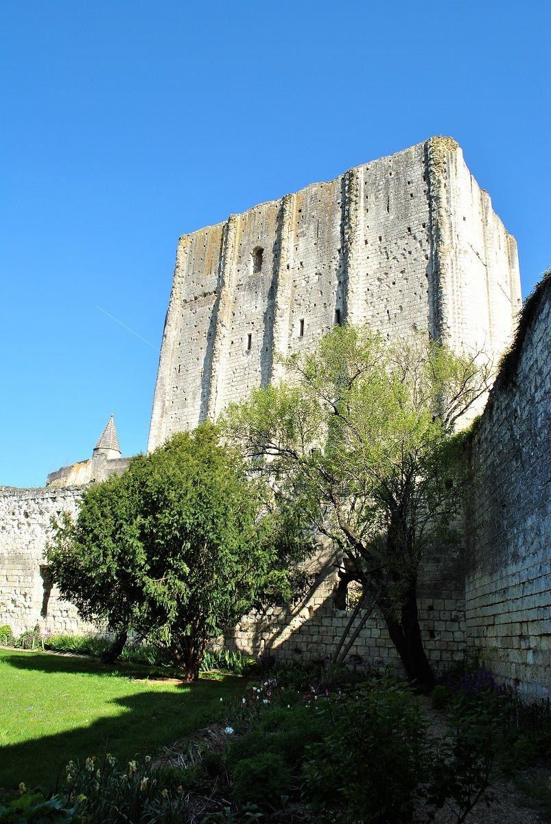 Forteresse de loches: (Photo prise en Avril 2017)