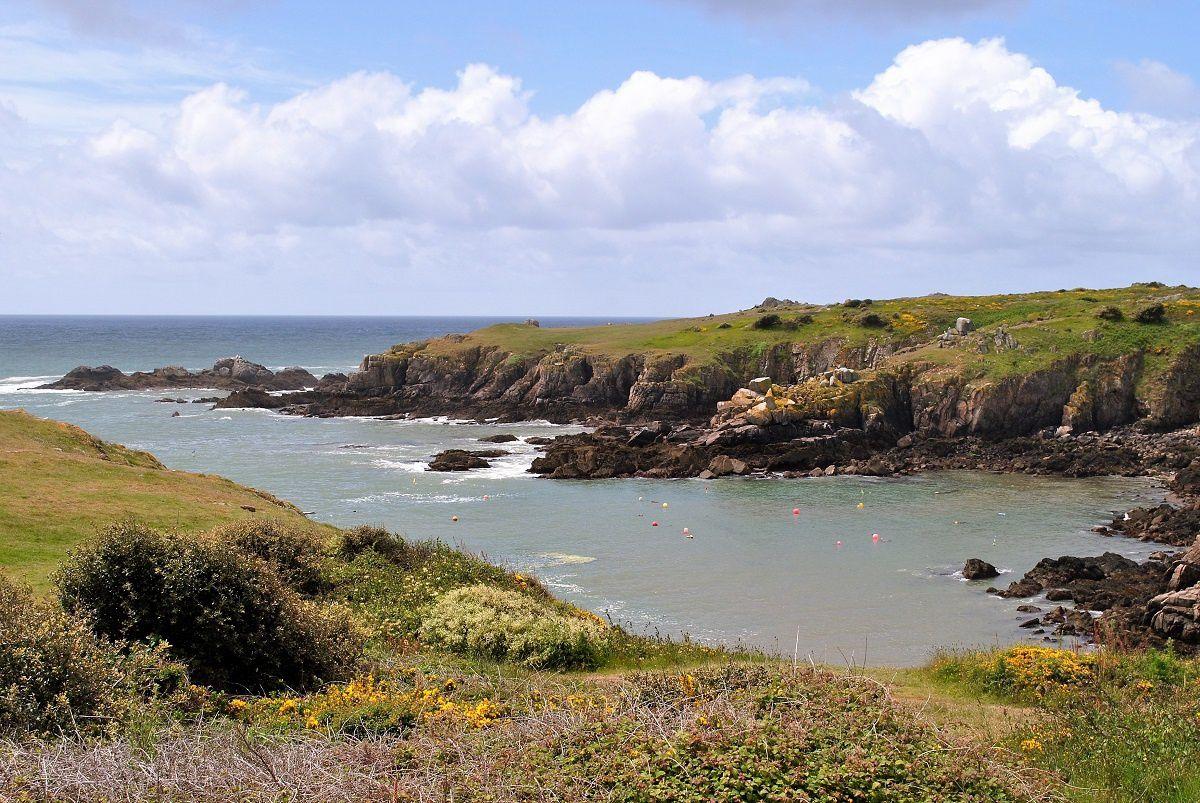 L ILE D YEU: La côte sauvage. (Photo rediffusée).
