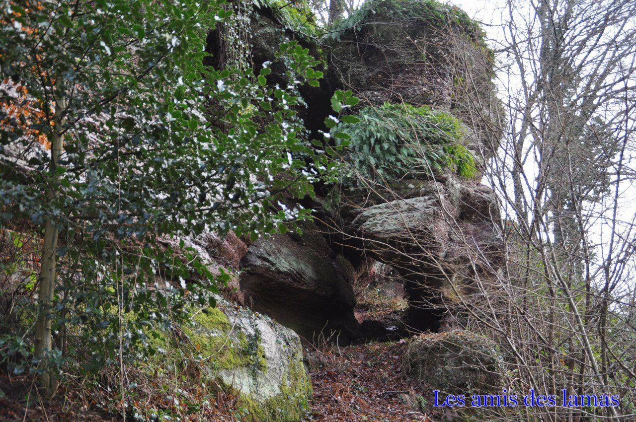 Autre magnifique rocher sur notre chemin
