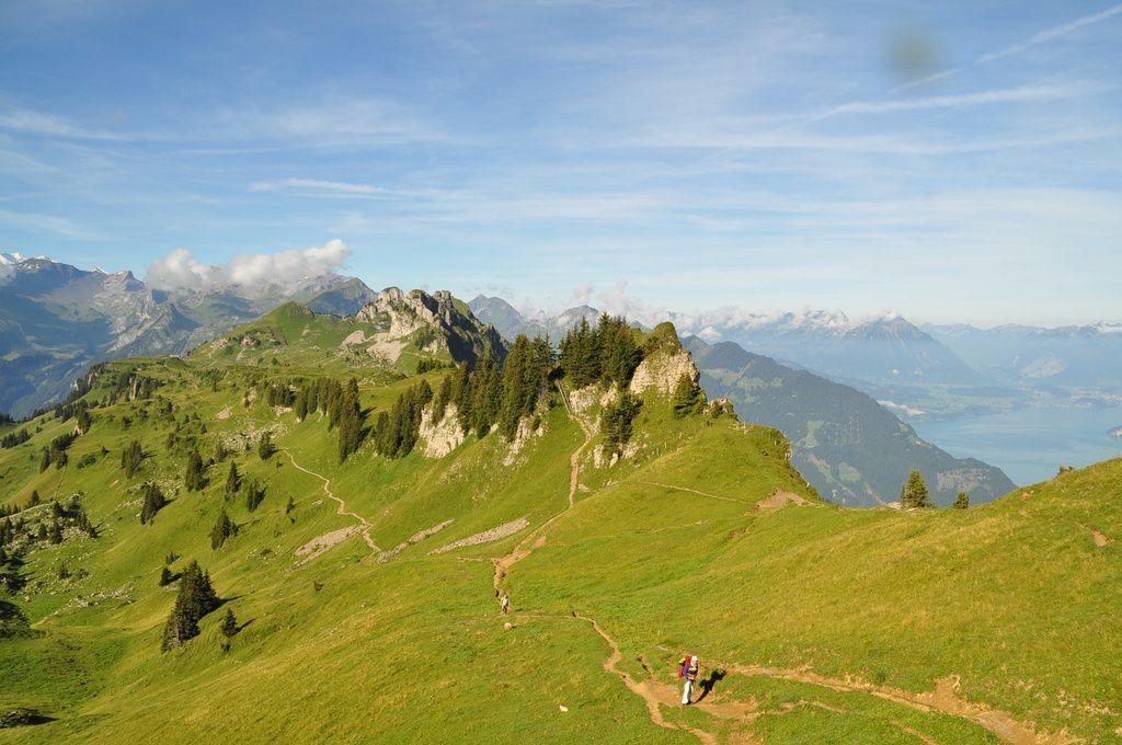 Alpages d'altitude et paysages de rèves......