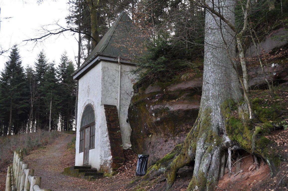 La chapelle Notre Dame de la Roche, ancien site celtique christianisé