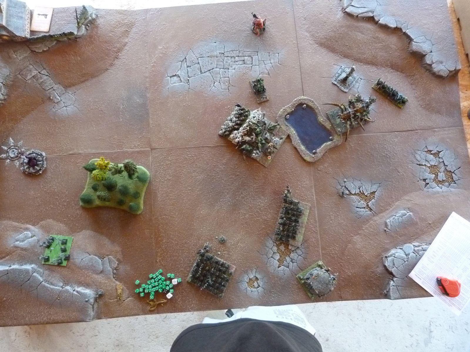 La fin de mon tour 3... ça s'annonce très compliqué pour les elfes !