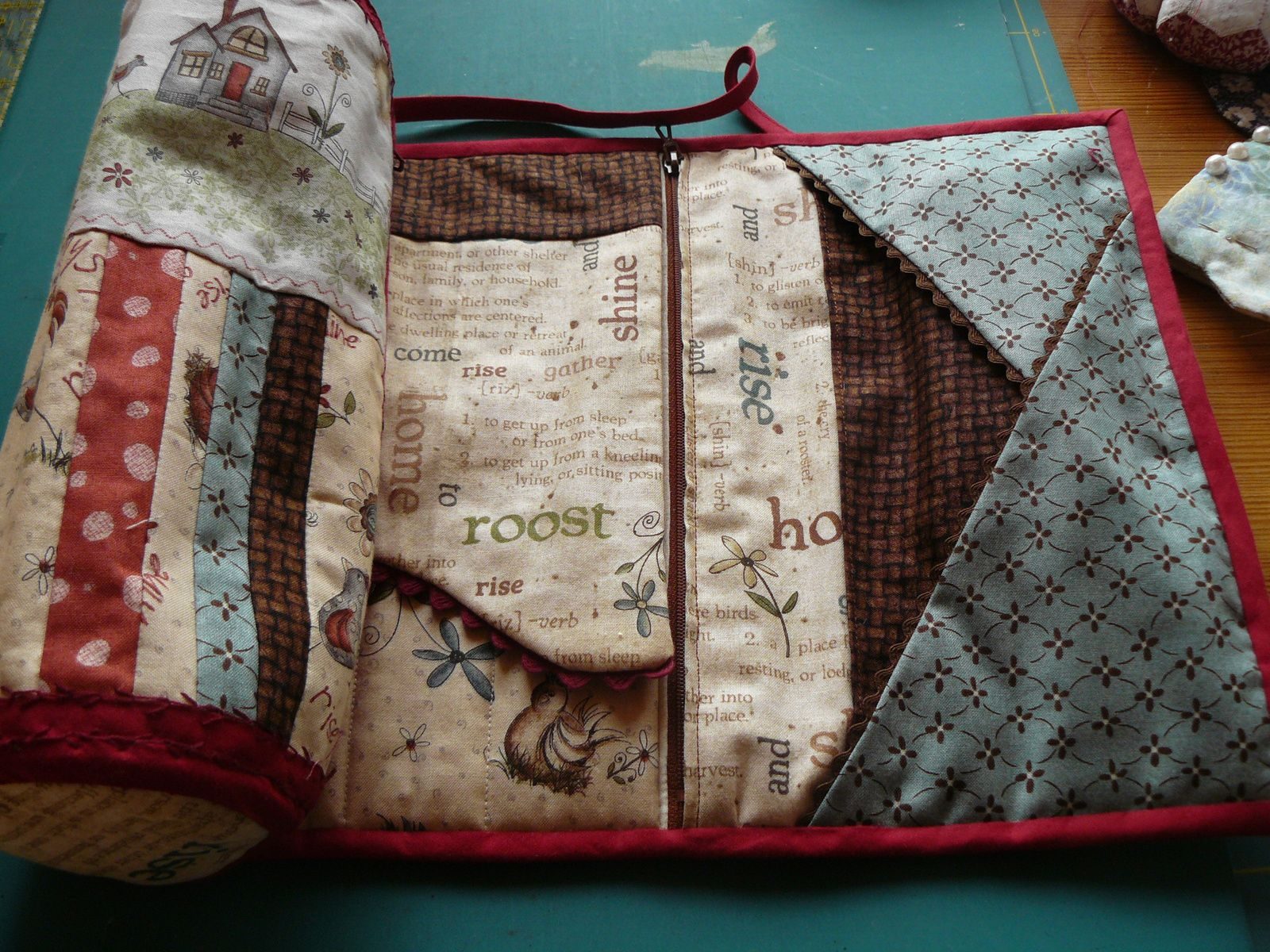 Trousse couture rouleau