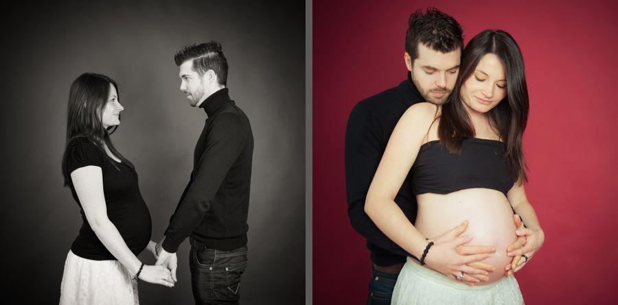 séance en studio de grossesse à Erdeven par Soazig Merand Photographe