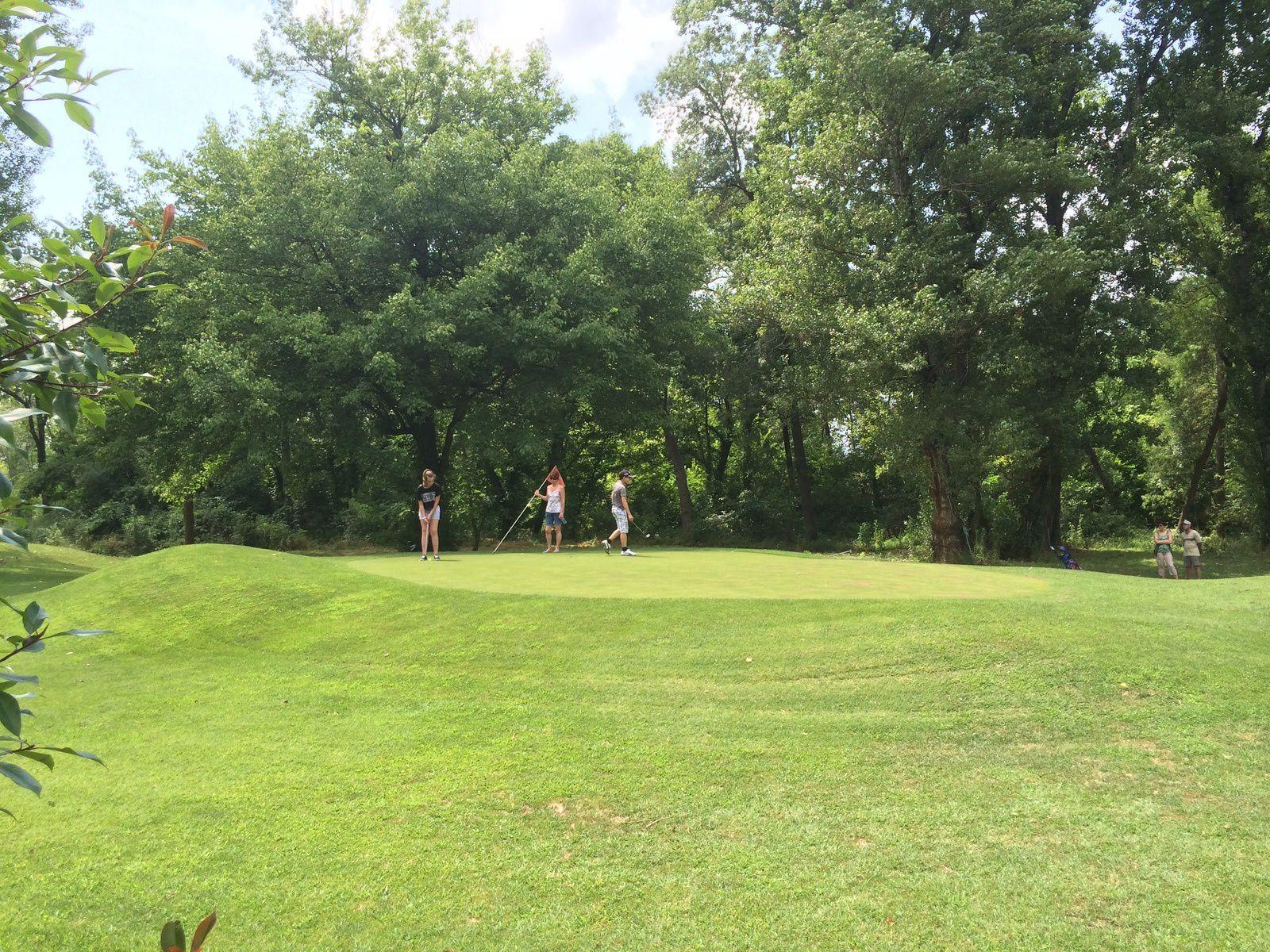 Fête de fin d'année de l' école de Golf
