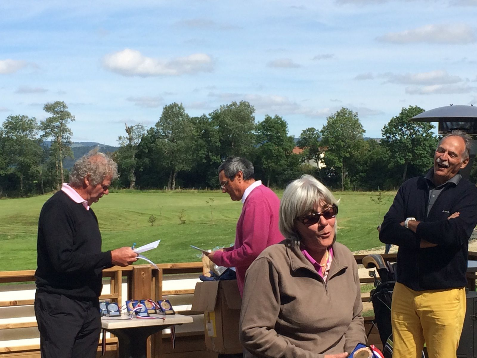 Cévenol Golf Open Tour à Langogne  - Remise des Prix