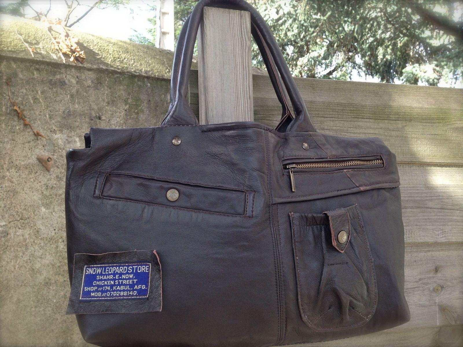 Du blouson cuir au sac