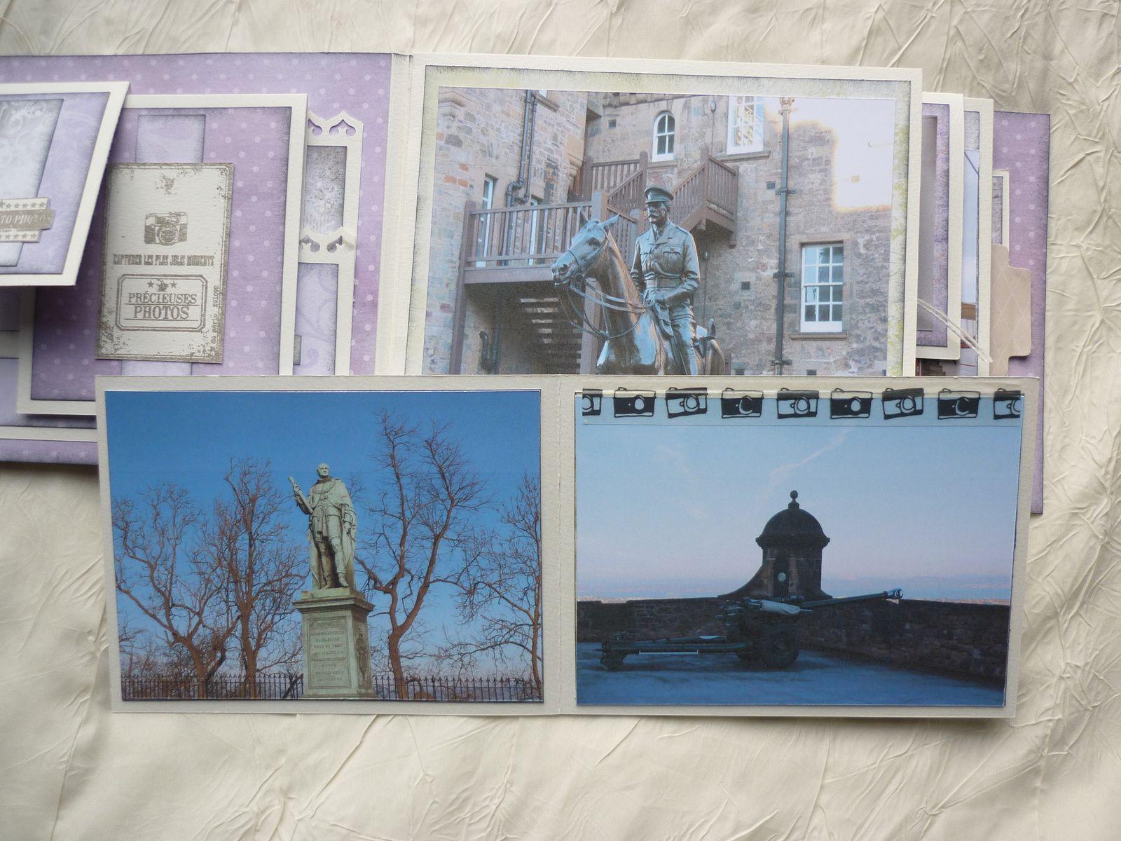 mini-album Edimbourg