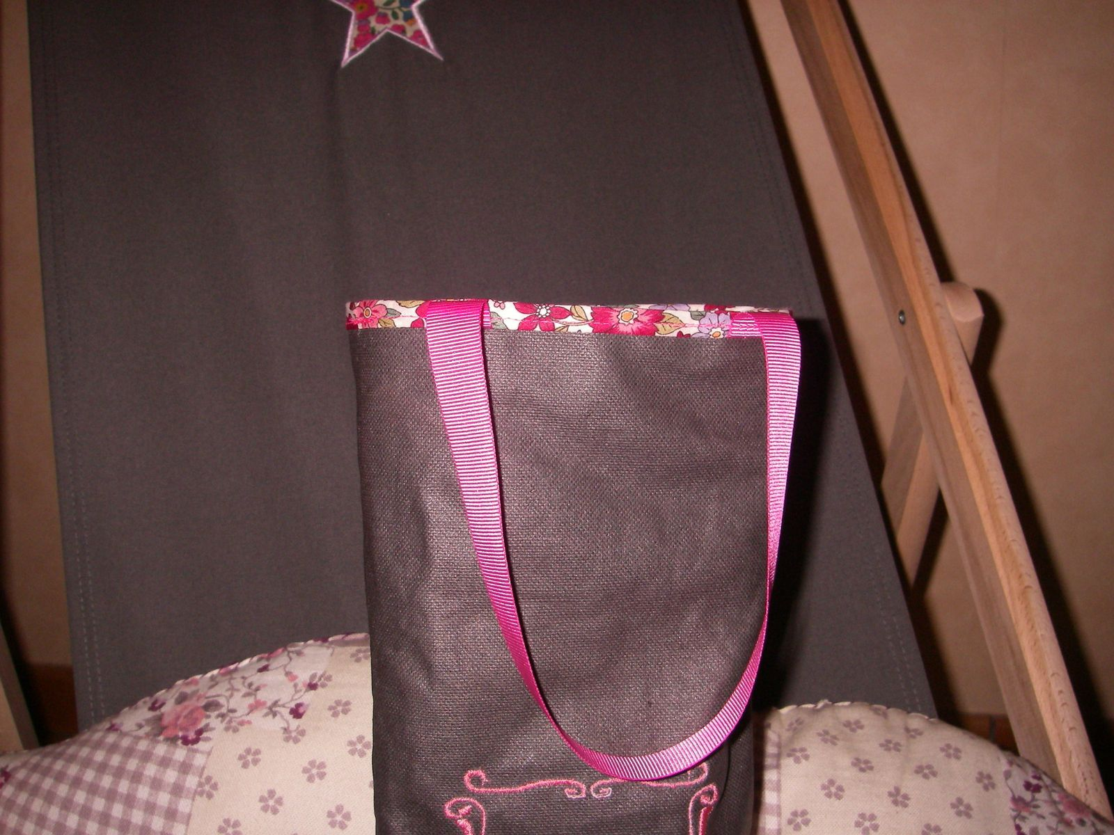 Sac a bouteilles &quot&#x3B;girly&quot&#x3B;