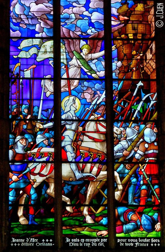 &quot&#x3B;Jeanne d'Arc in vitraux&quot&#x3B;