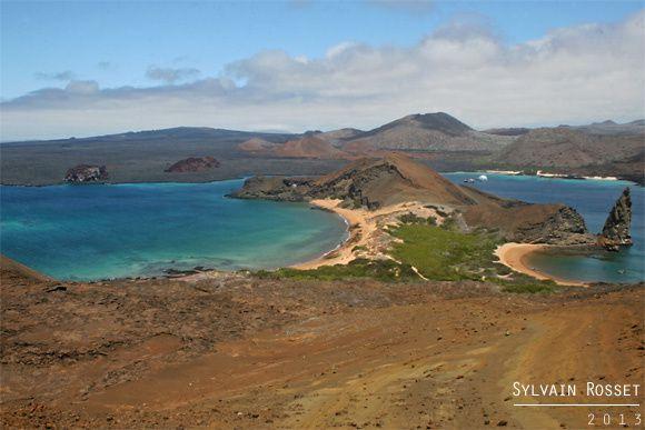 Panorama de Bartolomé, Galápagos