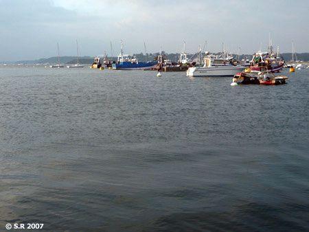 Lever de soleil sur le port de Saint-Cast-le-Guildo
