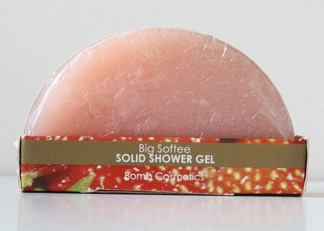 Gel de douche compact &quot&#x3B;Big Softie&quot&#x3B; - Bomb cosmetics
