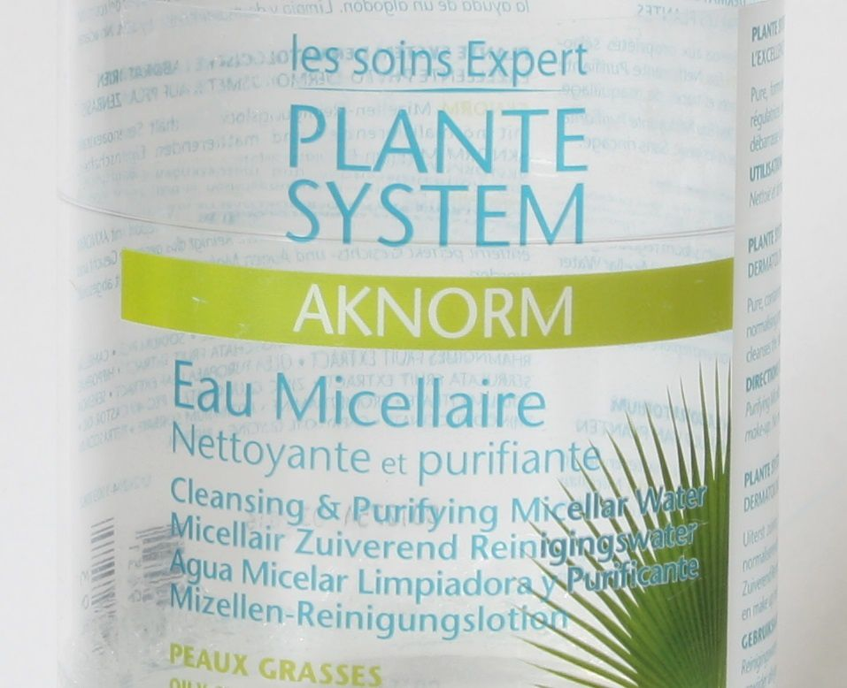 Eau micellaire Aknorm - Plante System