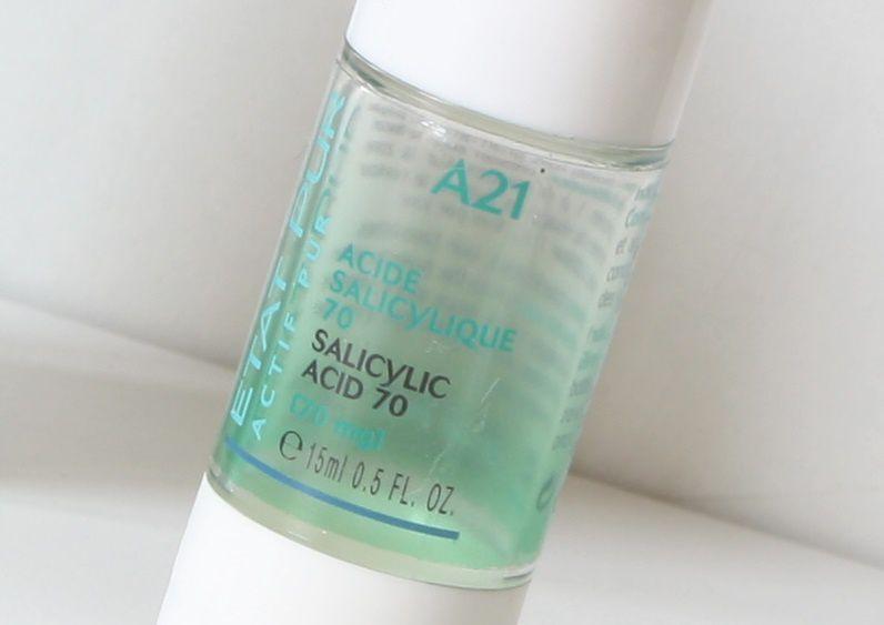 Actif pur acide salicylique - Etat pur