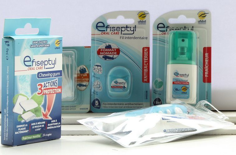 Gamme dentaire nomade - Efiseptyl
