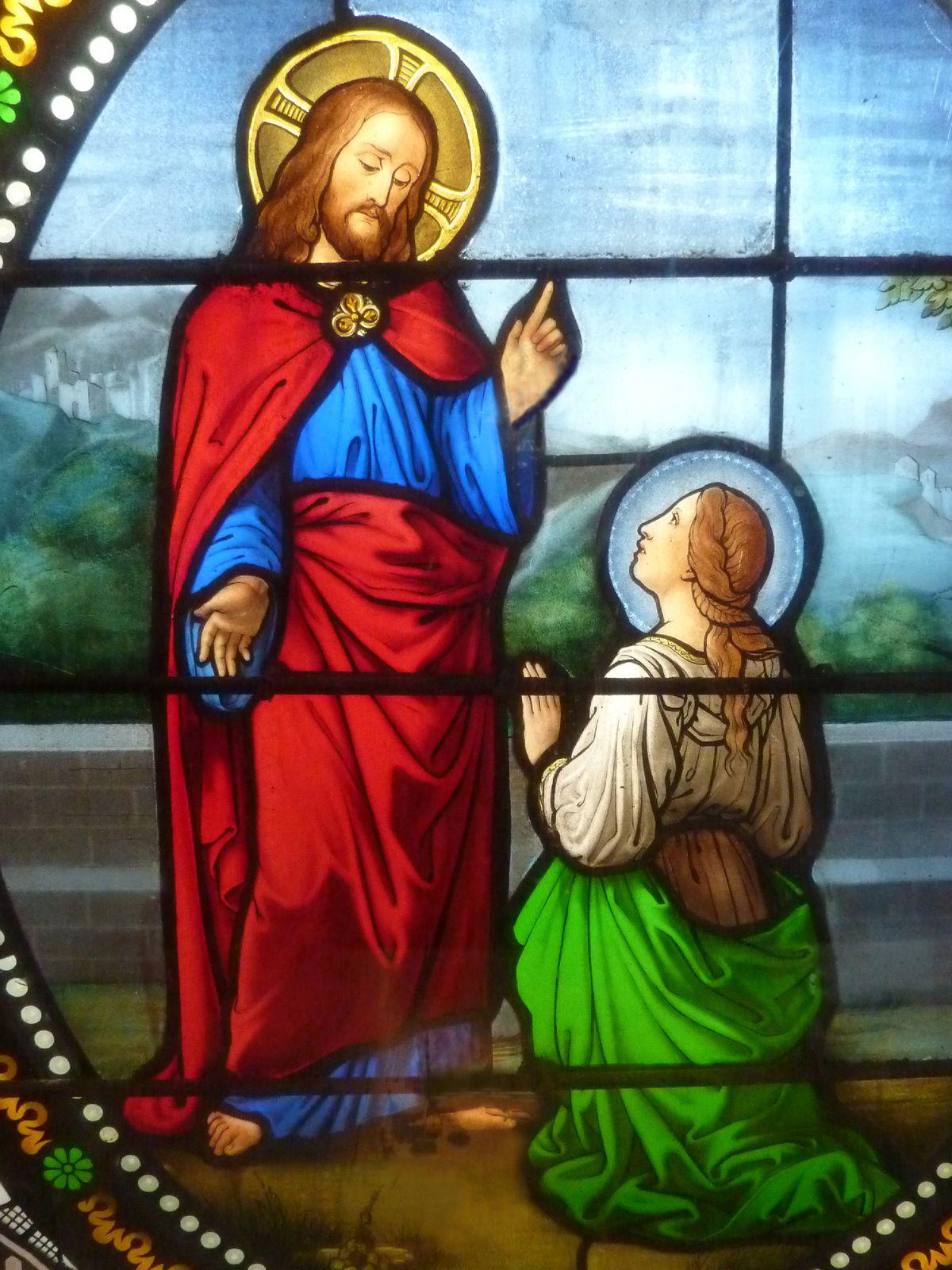 La chapelle en vitraux