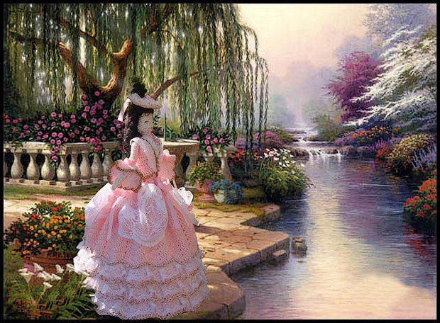Peintre : Thomas kinkade