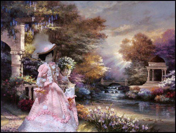 Douce rêverie en 1900...