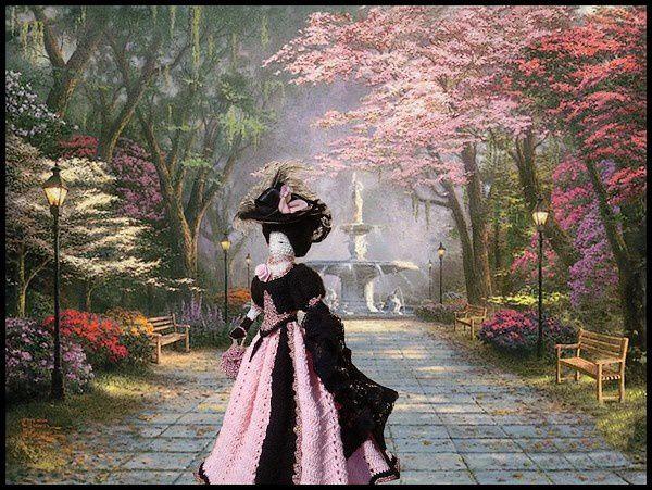 Promenade à la belle époque
