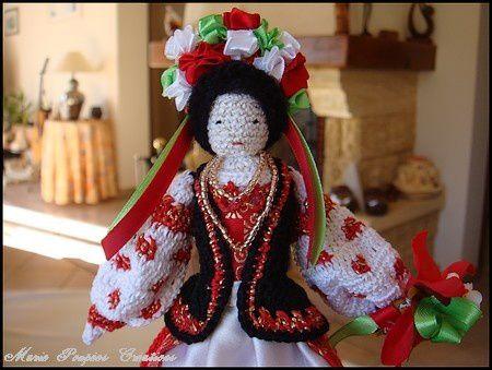 Maroussia , la poupée Ukrainienne