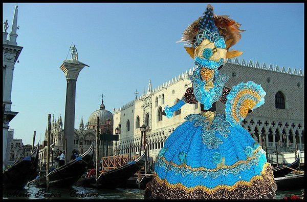 Carnaval de Venise : Masque d'or