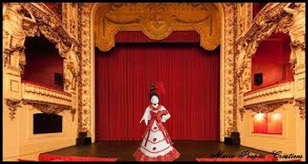 Poupée Carmen à L'Opéra