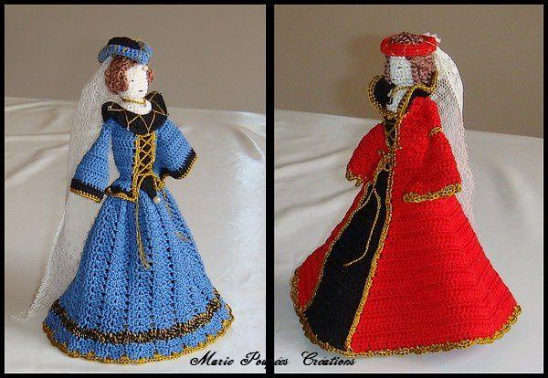 Les poupées Médiévales